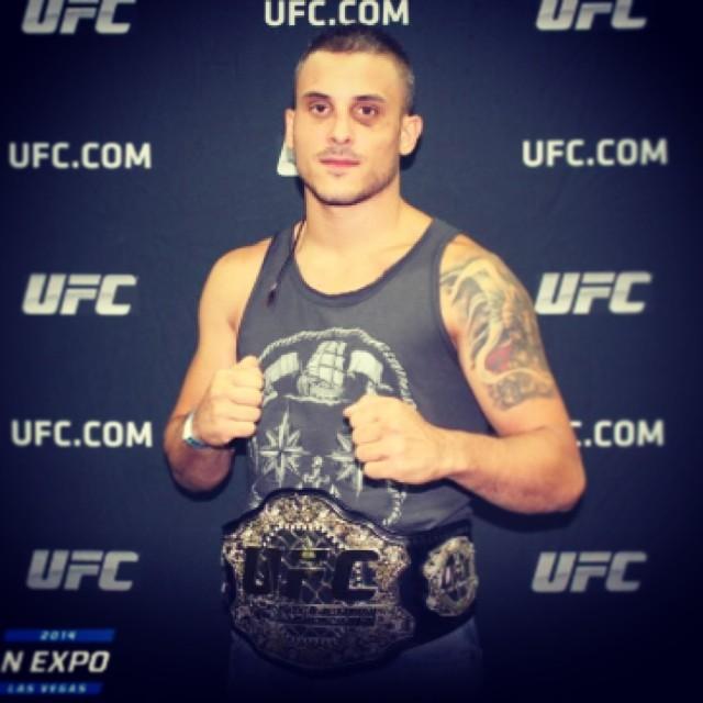Filip Ciomu dupa calificarile pentru gala de UFC din decemrbie