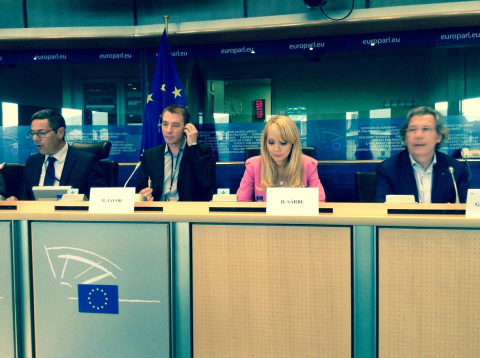 Daciana Sarbu reprezinta Romania in Parlamentul European