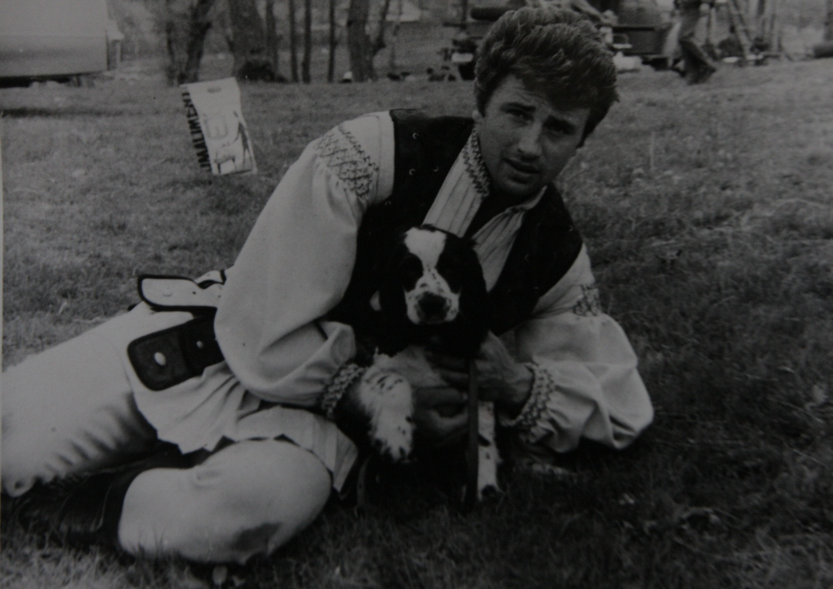 Maestrul iubea animalele inca de mic