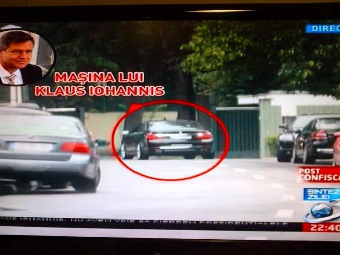 Klaus Iohannis a fost in vizita la Traian Basescu, dar acum neaga acest lucru