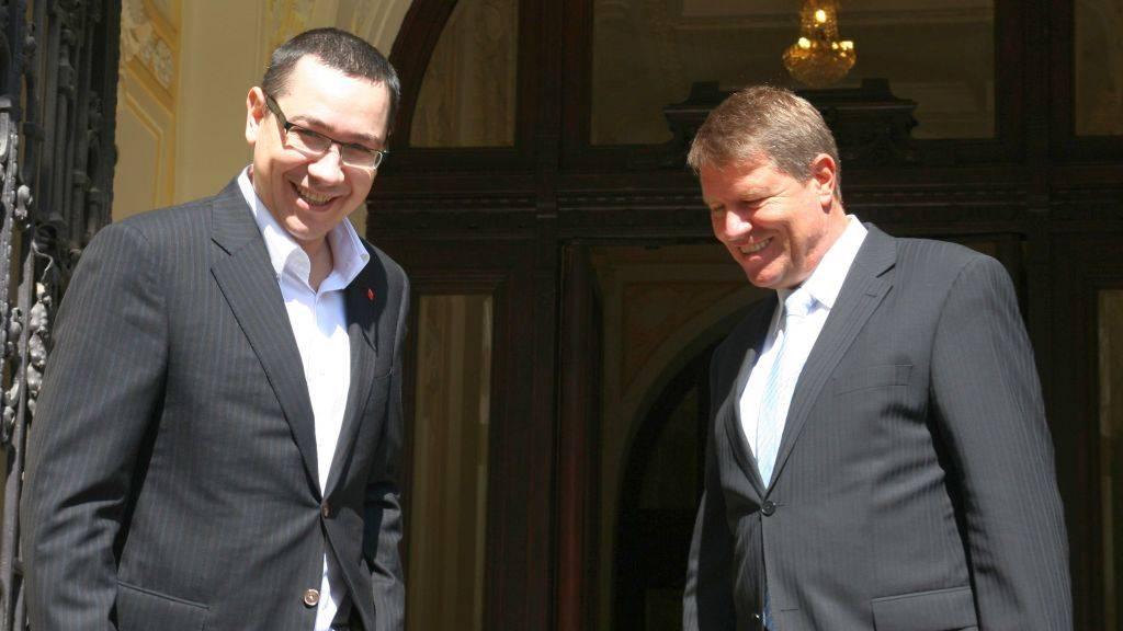Victor Ponta a raspuns declaratiei lui Klaus Iohannis