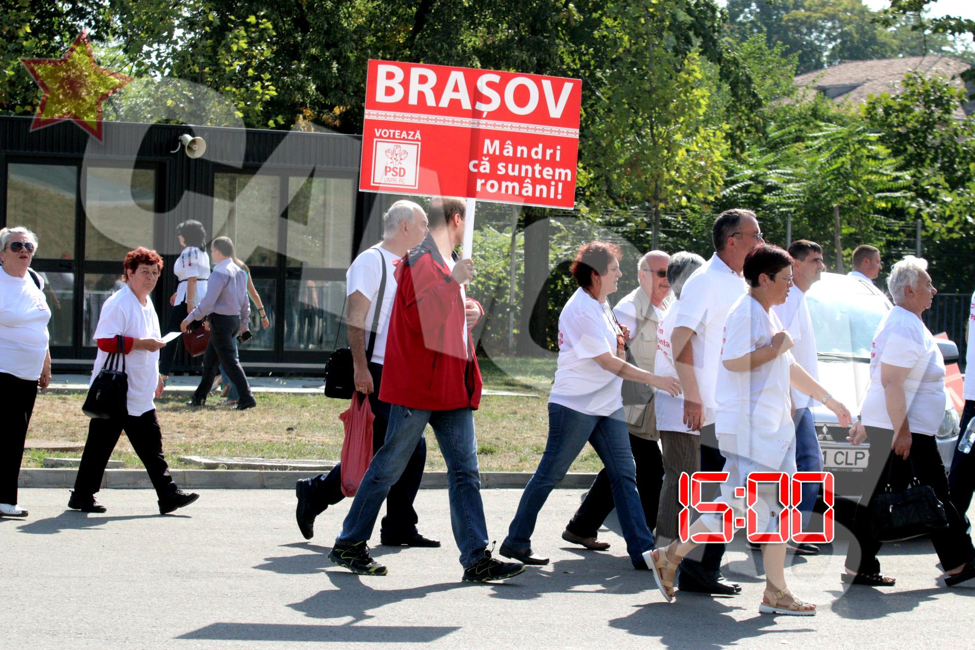 Organizatia PSD Brasov il sustine pe Victor Ponta cu un mesaj plin de emotie -