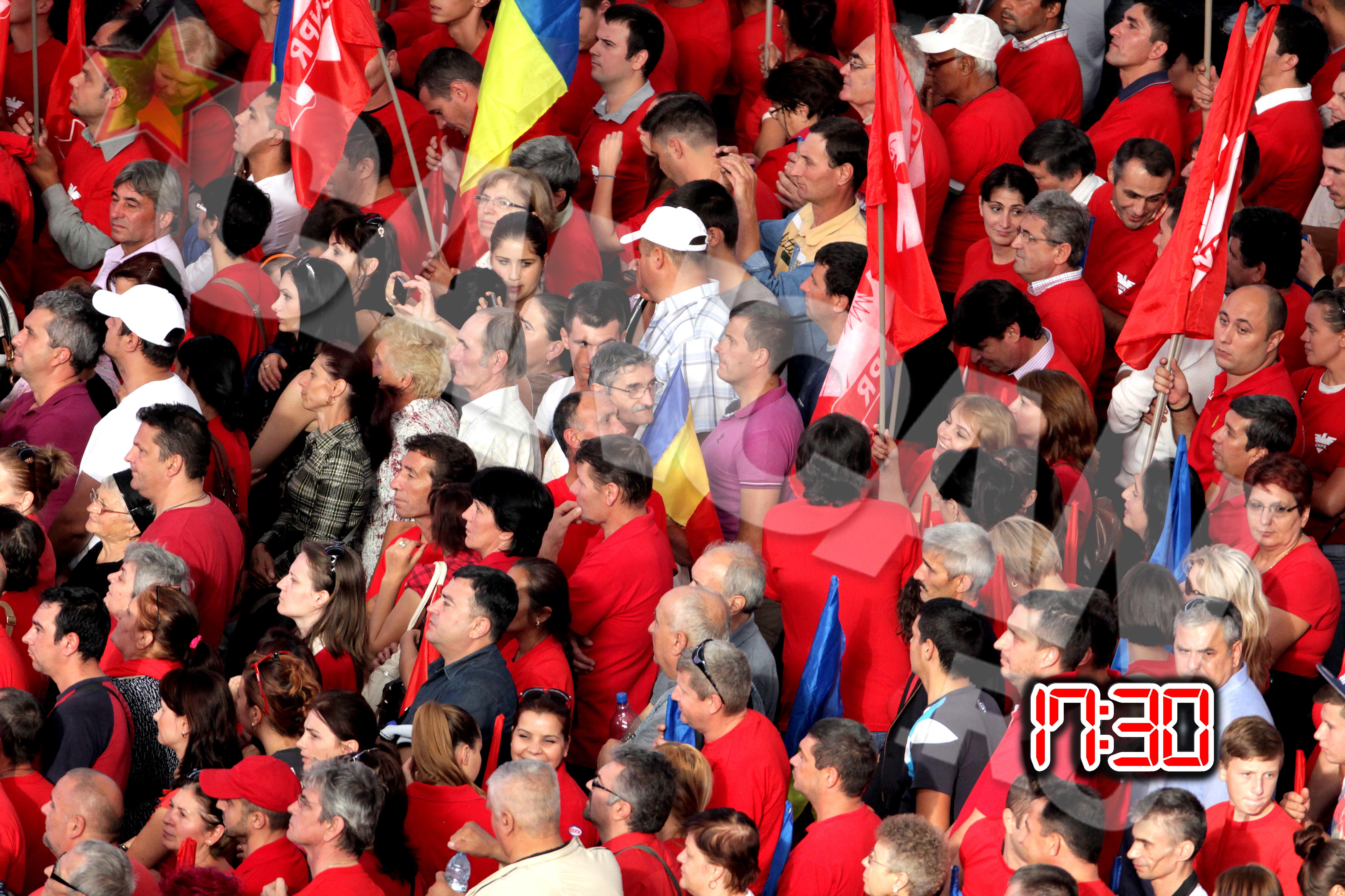 Un stadion intreg l-a aplaudat la scena deschisa pe Victor Ponta