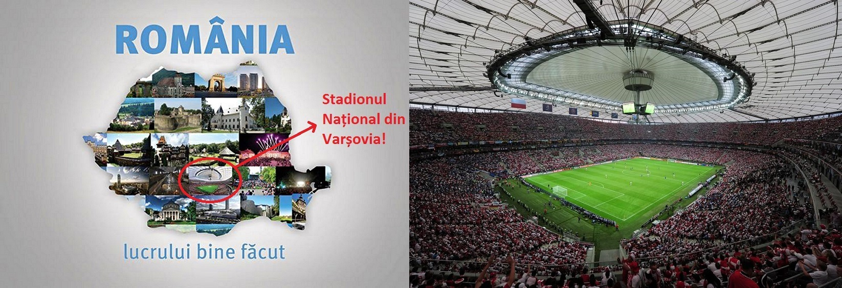 Prezidentiabilul ACL a folosit in campanie poze din Varsovia