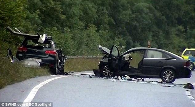 Asa aratau masinile implicate in accident