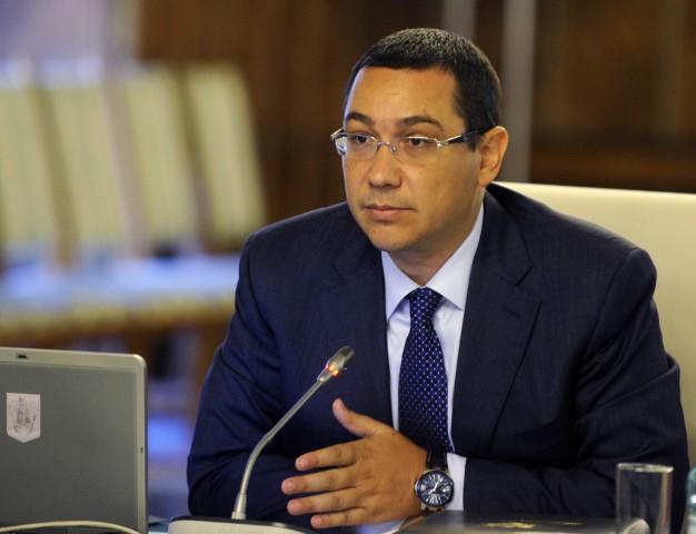 Victor Ponta a tinut sa o felicite pe tenismana pentru victoria ei