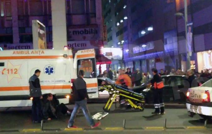 In urma cu putin timp, un accident a avut loc in zona Unirii din Capitala