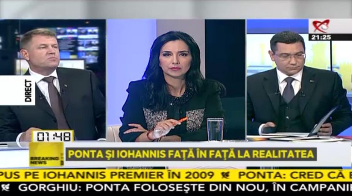 Ponta si Iohannis