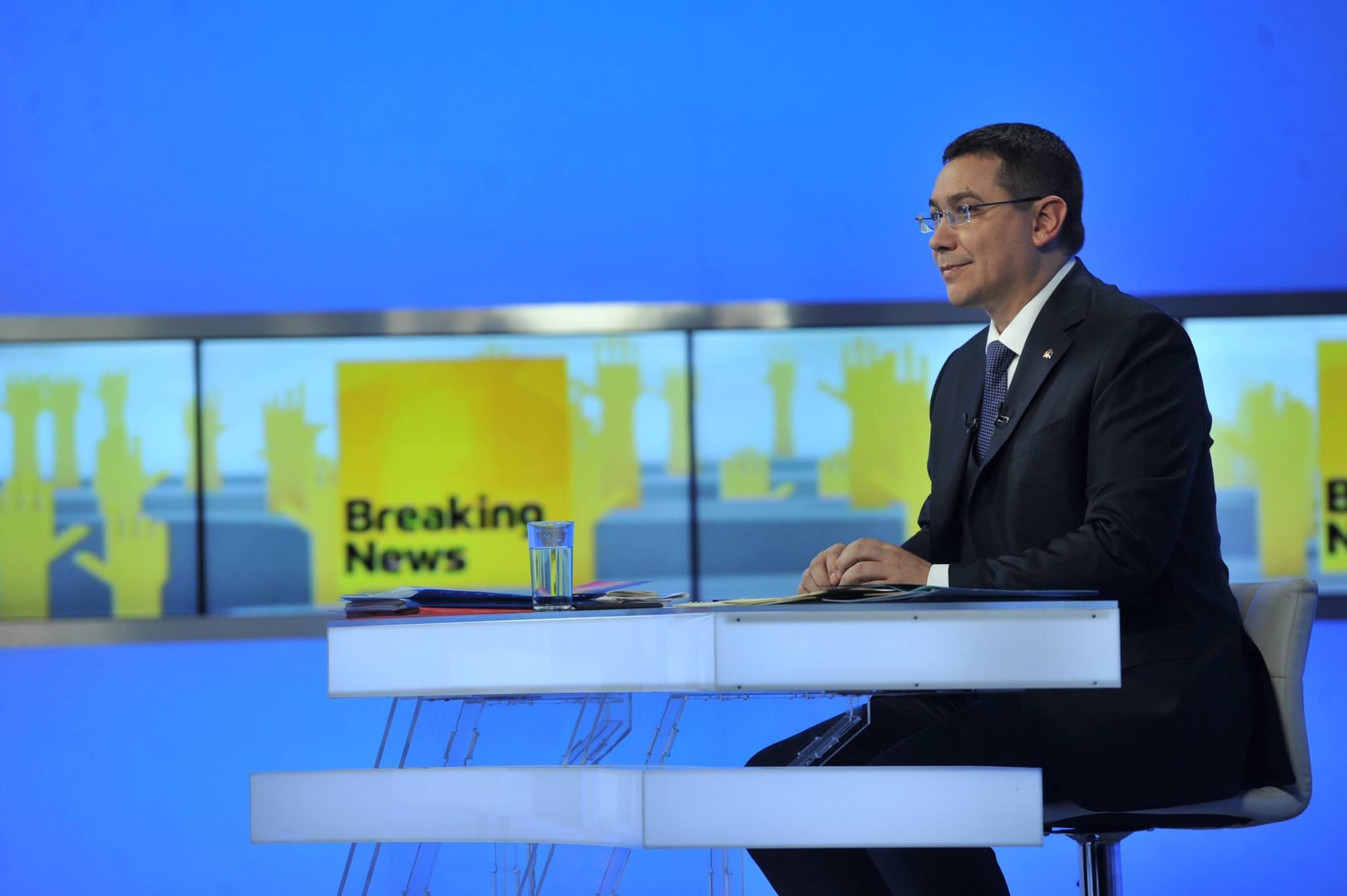 Victor Ponta a tinut sa le transmita un mesaj pensionarilor militari