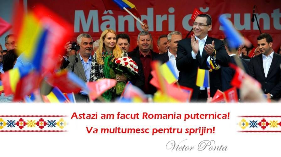 Acesta este mesajul transmis de Victor Ponta, la scurt timp dupa inchiderea urnelor