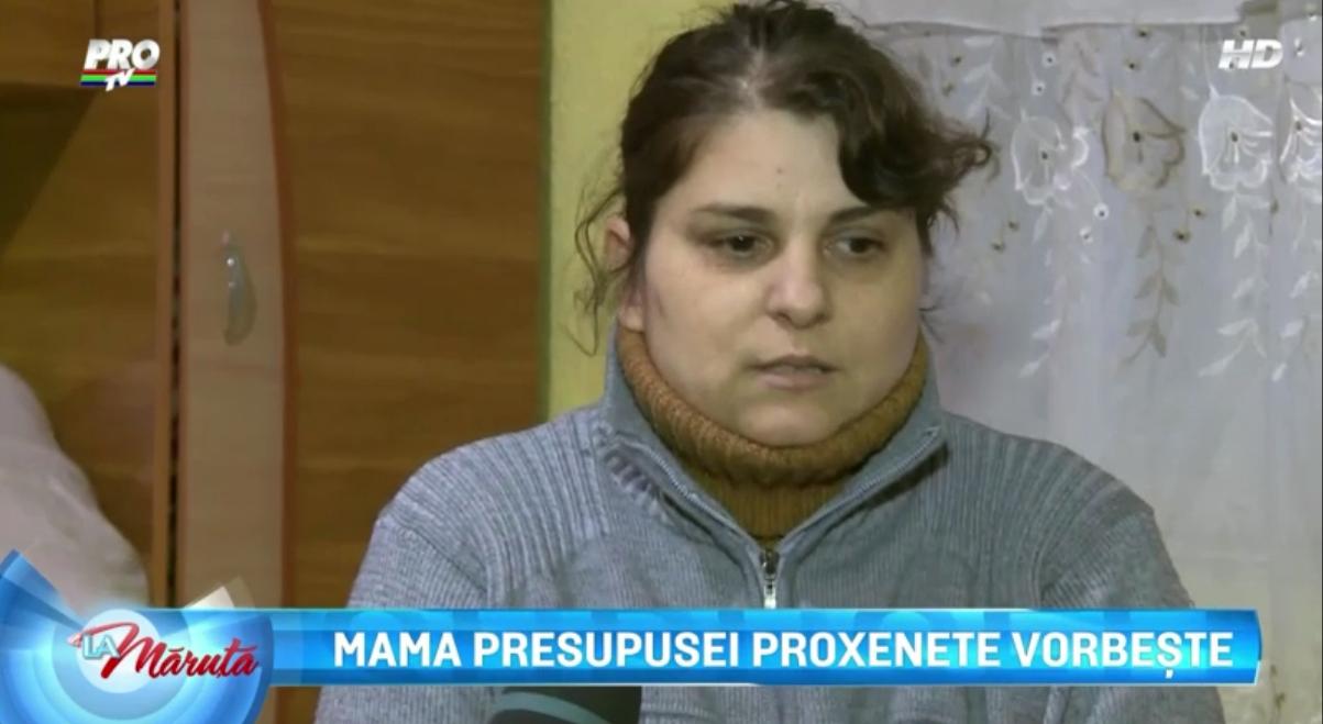 Mama Florentinei spune ca nu isi poate ierta fiica
