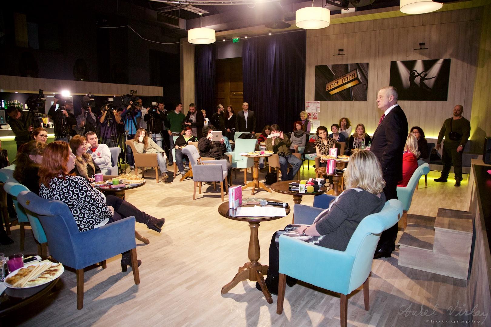 Primarul general Sorin Oprescu a fost astazi prezent la o lansare de carte