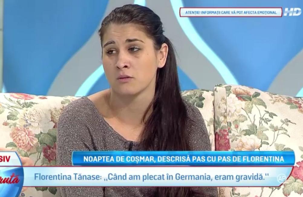 Florentina Tanase a vorbit pentru prima data despre drama Ioanei