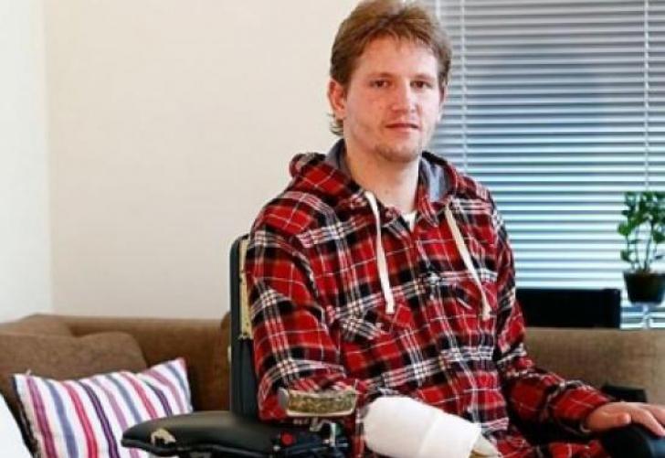 In 2011, in urma unui accident suferit la un antrenament, Mihaita Nesu a ramas paralizat de la gat in jos