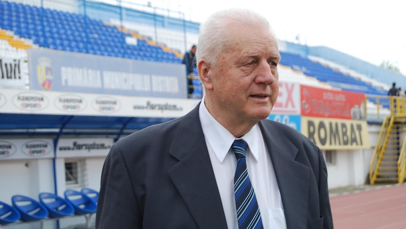 Gloria Bistrita a fost echipa pentru care Jean Padureanu a lucrat din 1964