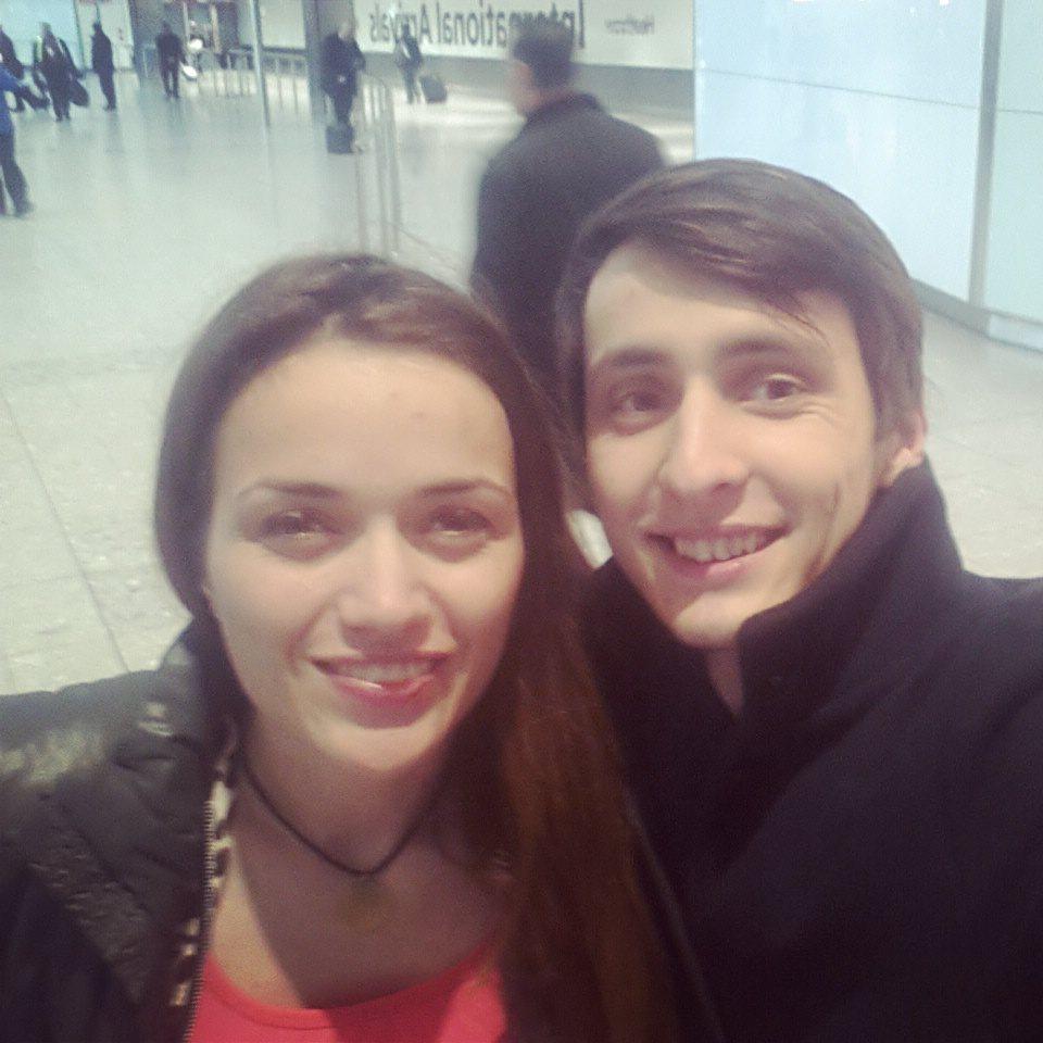 Mariana Ciuca si fratele ei Alex
