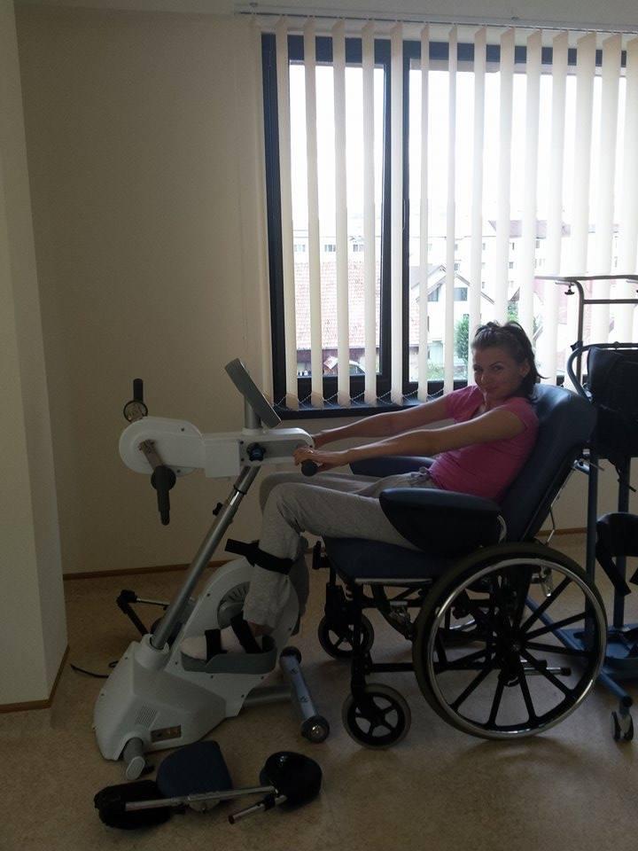 Tanara are doar 23 de ani, iar ea ne-a spus ca recuperarea greu