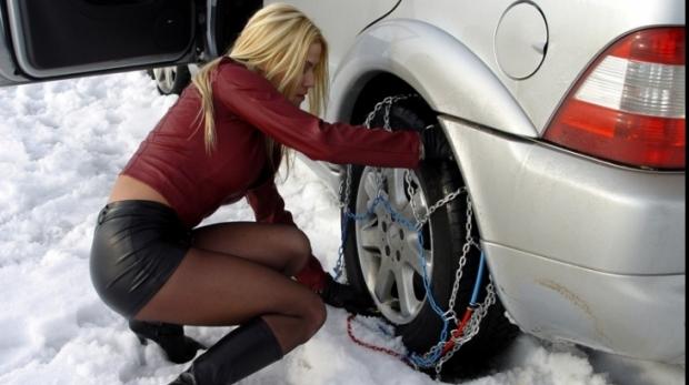 Anvelopele de iarna sunt periculoasa cand temperatura creste peste 7 grade Celsius