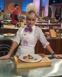 Maria a impresionat juriul de la PRO TV cu preparatele ei si talentul sau culinar sursa: arhiva personala