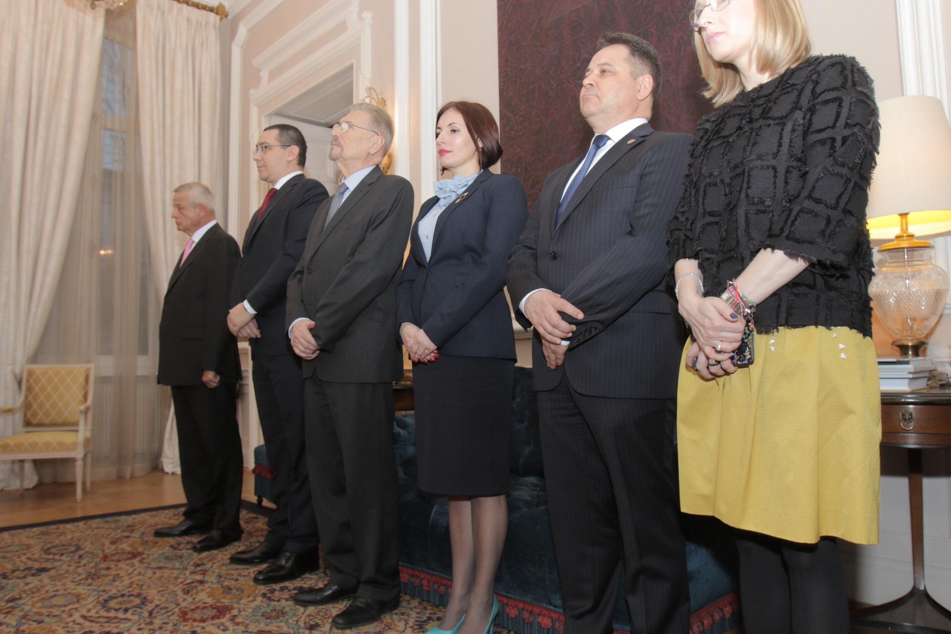 La eveniment a participat prim ministrul Romaniei,Victor Ponta, si ministrul Gabriela Szabo