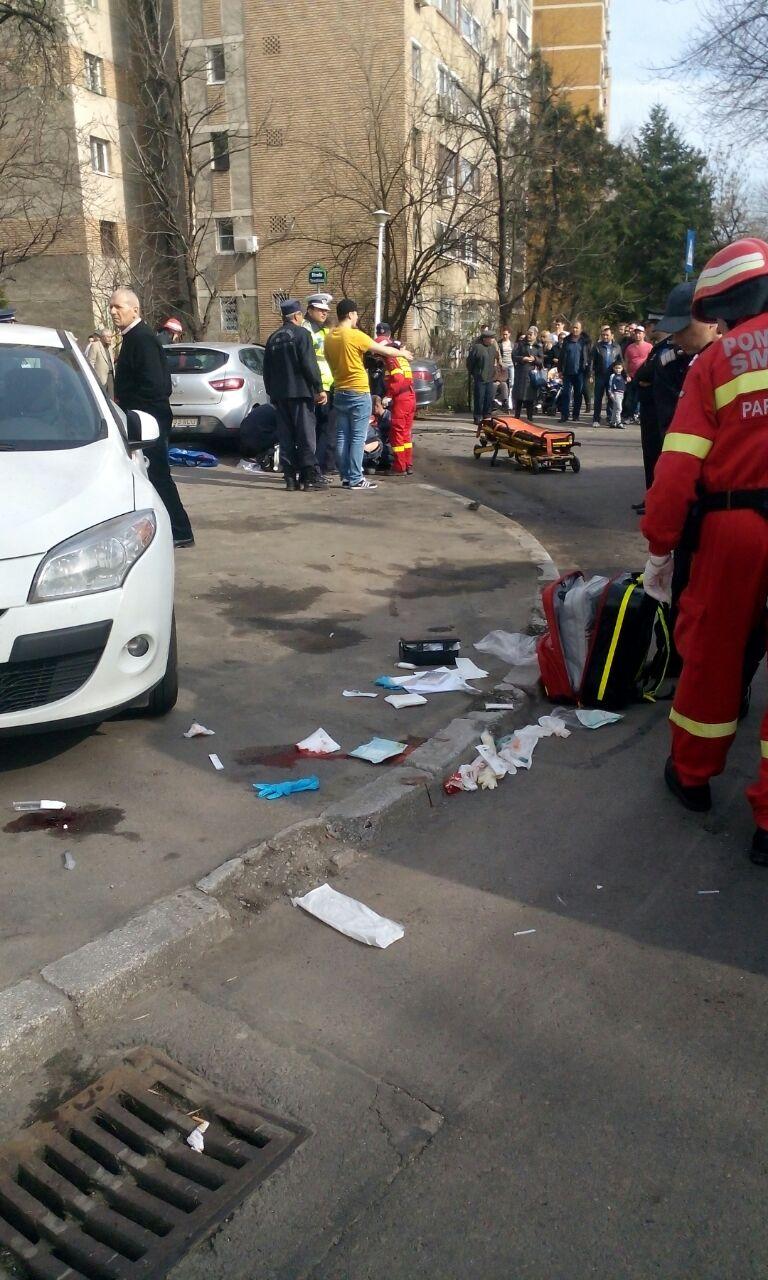 In urma impactului doua persoane au fost ranite grav