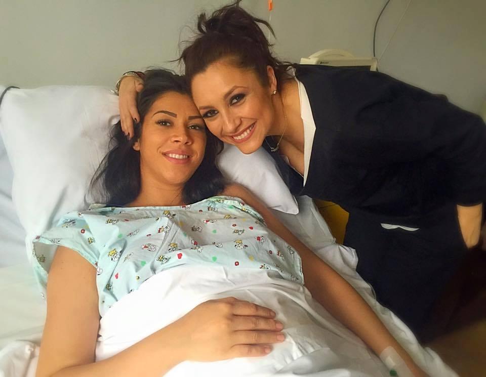 Andra a vizitat-o pe Raluca Pastrama la spital