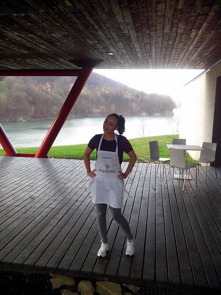 Odette a ajuns pana in finala show-ului culinar