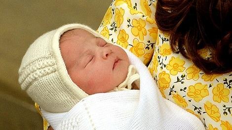 Mica printesa s-a nascut in aceasta dimineata
