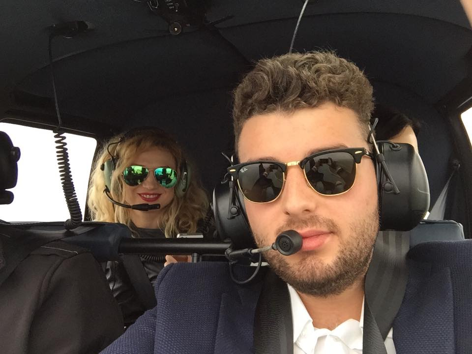 Victora Micula se afla in acealsi elicopter cu Elena Constantin
