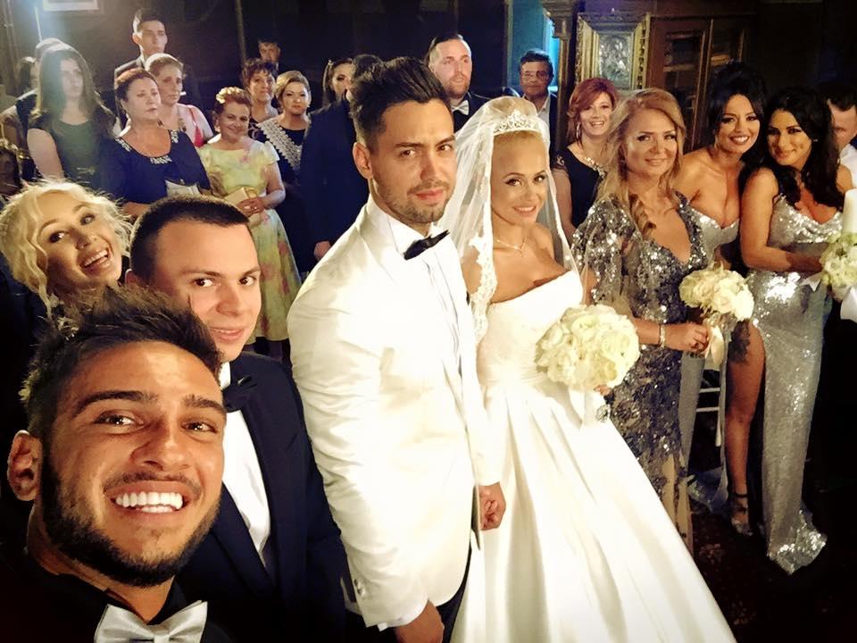 Anda a avut parte de o nunta plina de evenimente