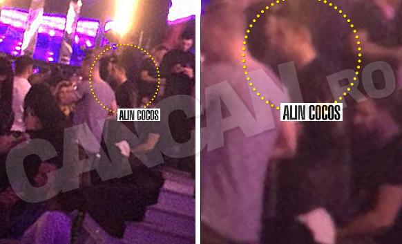 Alin Cocoş a mers în club fără Gina Pistol