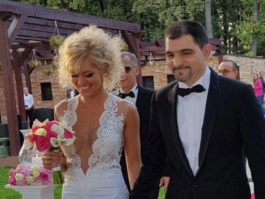 Andrei Ştefan s-a căsătorit anul trecut cu aleasa inimii sale