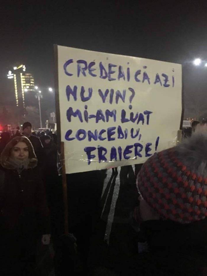 Când e luni, eşti PSD-ist şi speri să nu mai vezi pe nimeni la proteste