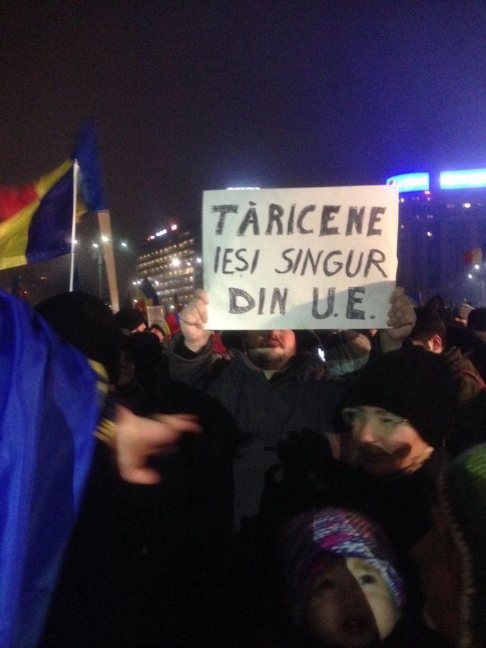 """Când Tăriceanu a fost îndemnat să fie """"tări"""" şi să iasă singur din UE, dacă are chef."""