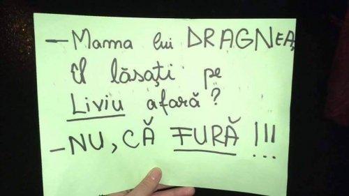 Când mama lui Liviu Dragnea intervine şi face promisiuni străzii