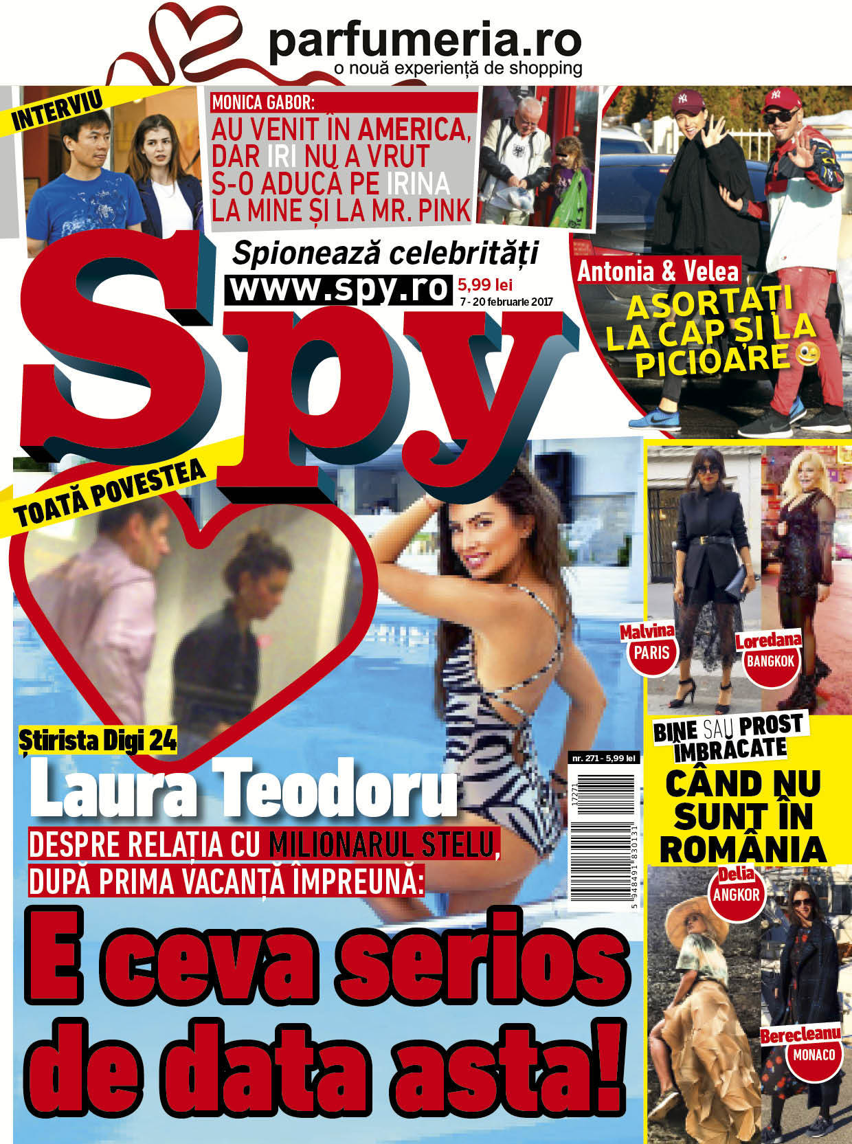 Coperta revista Spy nr. 271