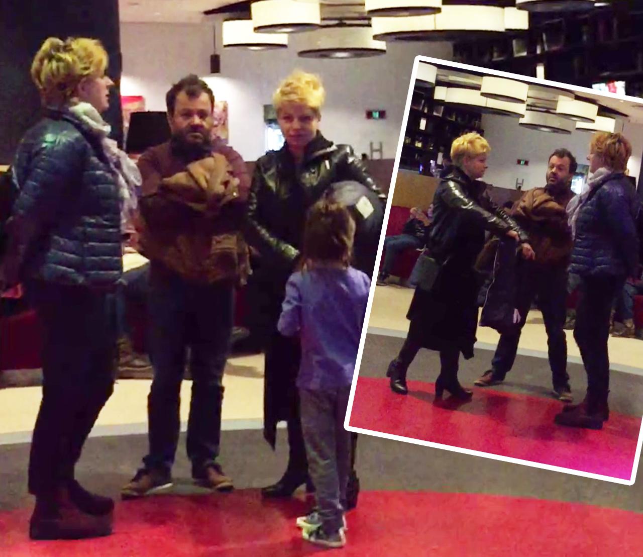 """Costel din """"La Bloc"""" a mers alături de familia sa frumoasă la film"""