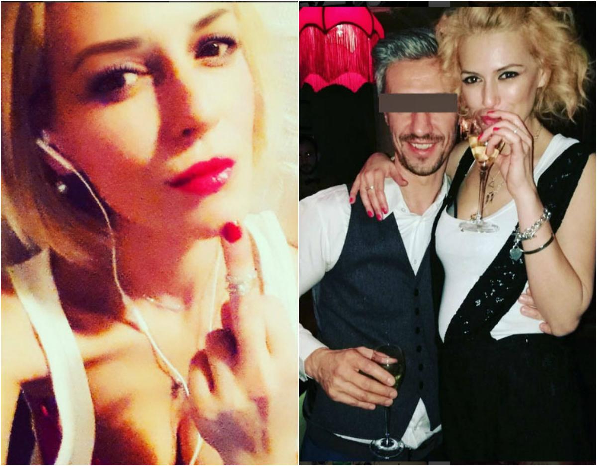 Raluca anunţa pe toată lumea c-a aflat că e înşelată de către soţ printr-o imagine pe Instagram, în care purta verigheta pe degetul mijlociu. În plus, şi-a petrecut Revelionul în compania unui iubit misterios (foto dreapta)