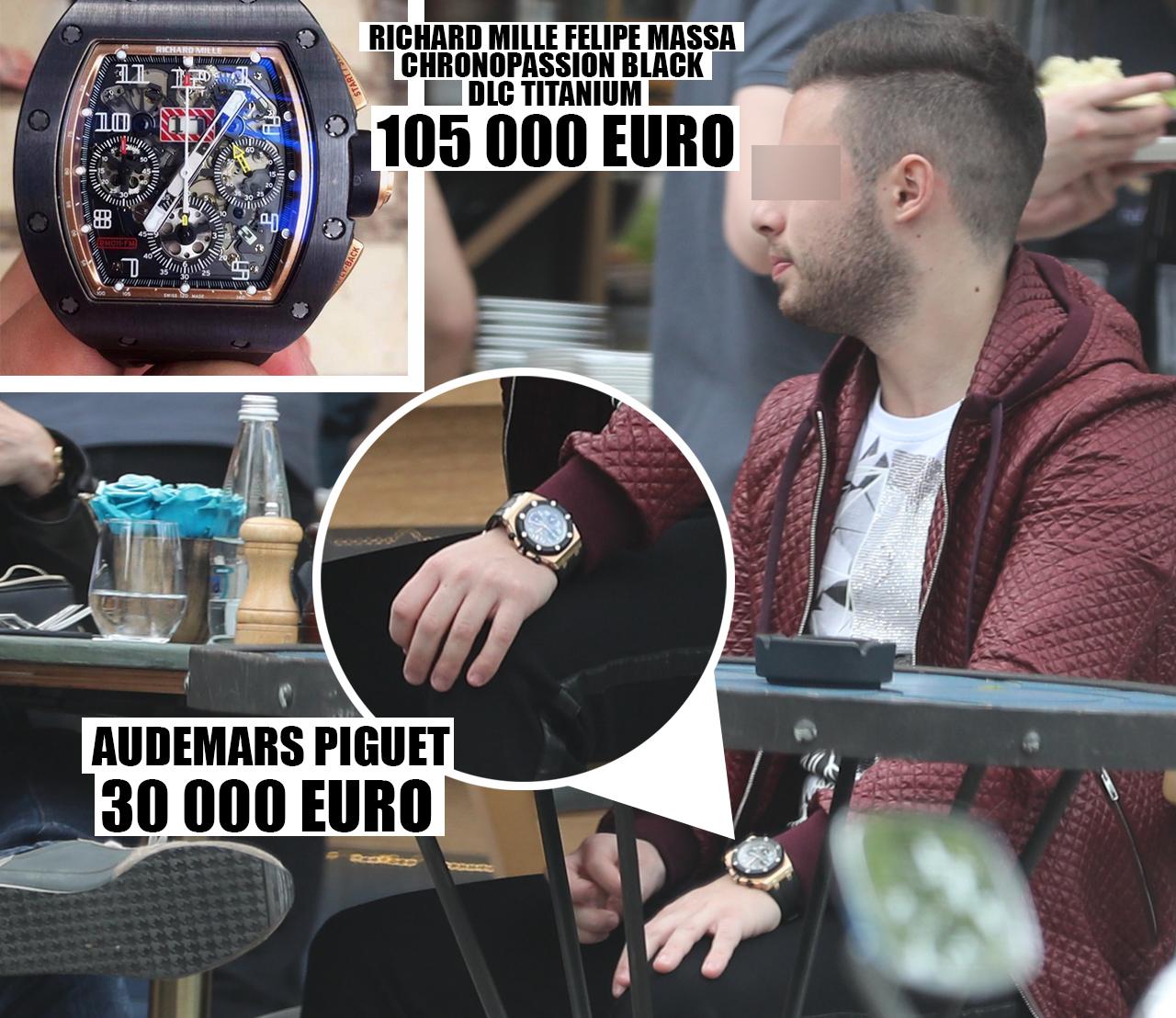 Mihnea Grigoriu are ceasuri de aproape 150.000 de euro şi dovedeşte gusturi fine: Richard Mille este un ceas aparte, rar şi produs în serii mici, exemplare cărora până acum le-a crescut valoarea!