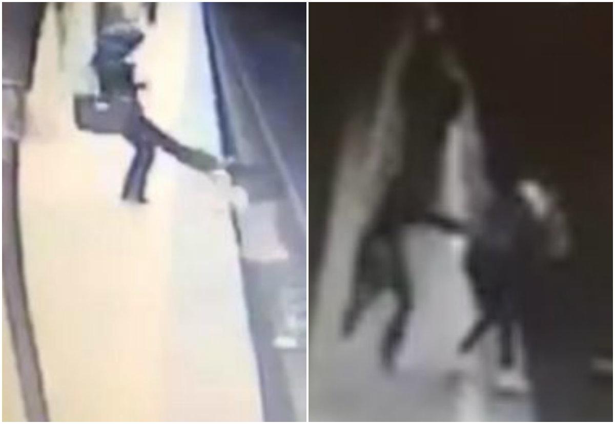 Crima şi tentativa de crimă comise de Magdalena Şerban: Alina Ciucu (partea stângă) vs. Alexandra (partea dreaptă)