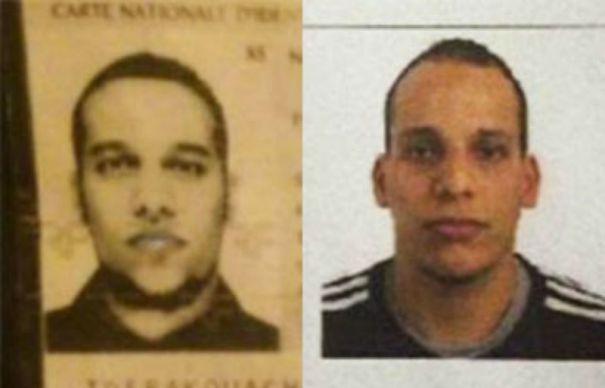 Said si Cherif Kouachi sunt in continuare cautati de politie