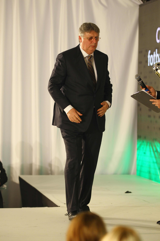 Gino Iorgulescu a urcat si el pe scena Festivalului de Moda
