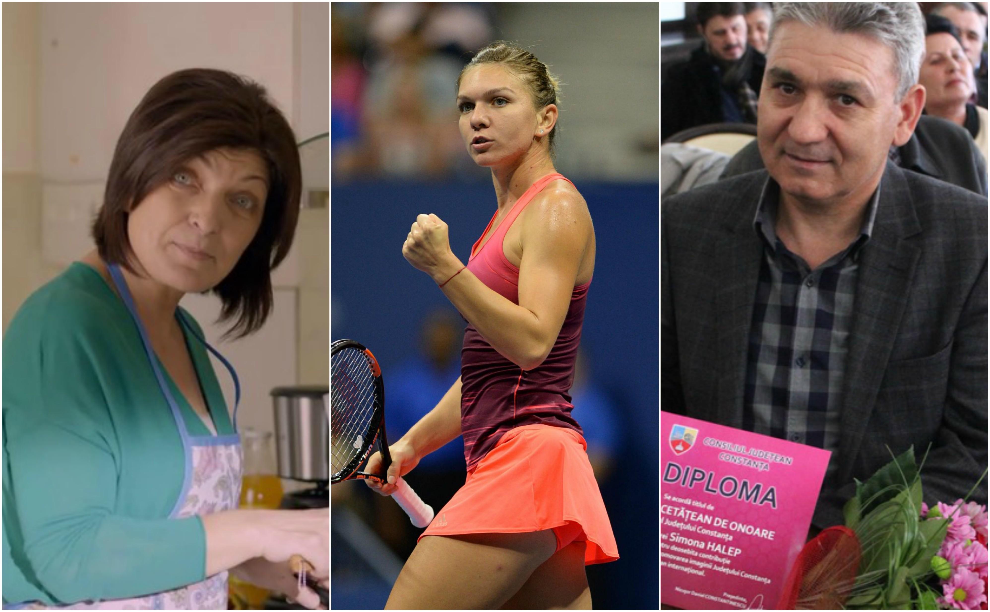 Atât Tania, cât şi Stere, au mers la antrenamentul fiicei lor pentru a-i ridica moralul, după eşecul de la Roland Garros. Deşi a ieşit campioană în turneul de la Madrid, tenismena nu poate depăşi problemele din ultima perioadă.