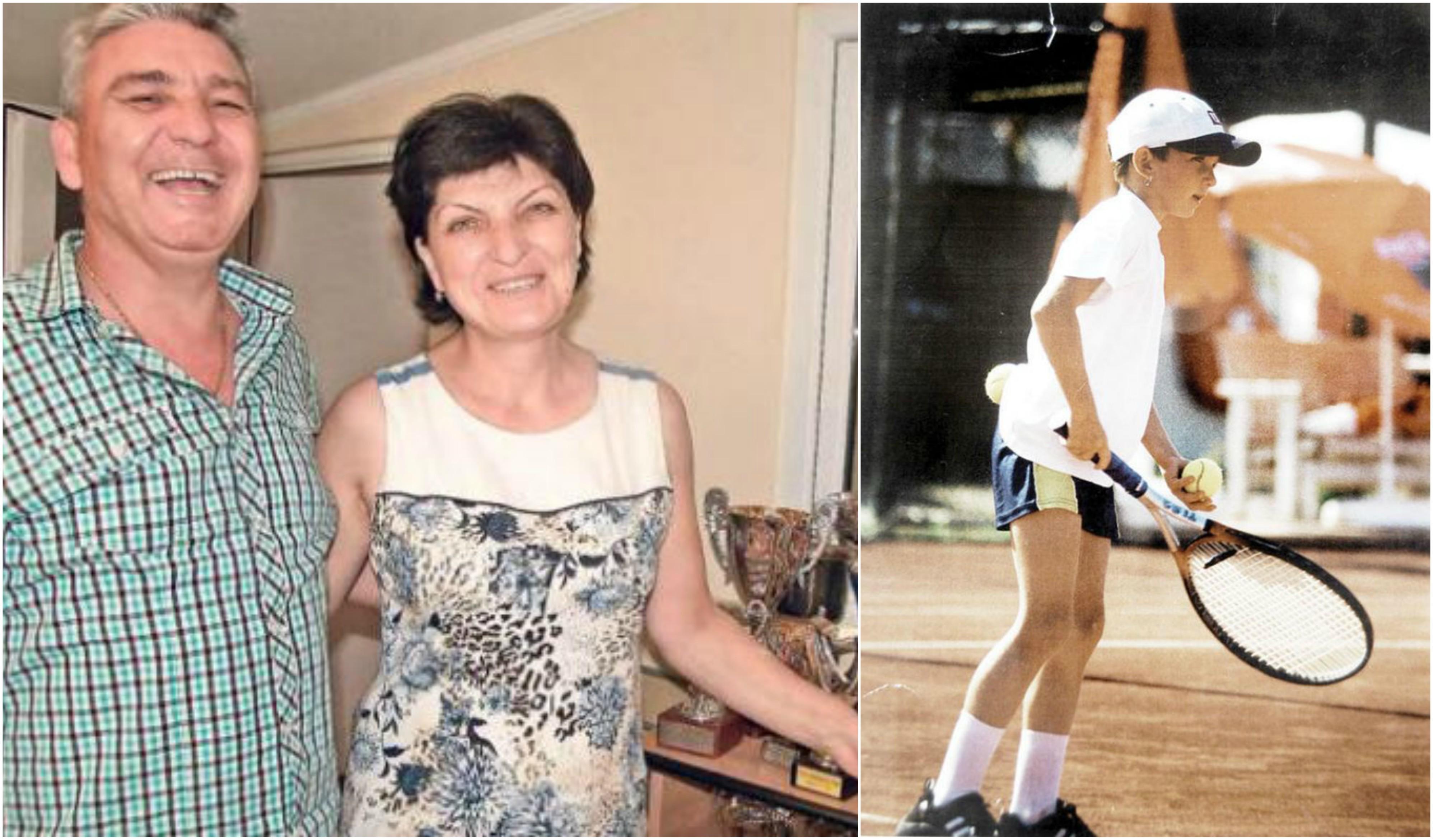 Deşi fratele său a fost primul care a început cu tenisul, pasiunea Simonei pentru acest sport a fost mai puternică, devenind campioana României, cu sprijinul enorm al familiei sale, care se mândreşte cu realizările ei.