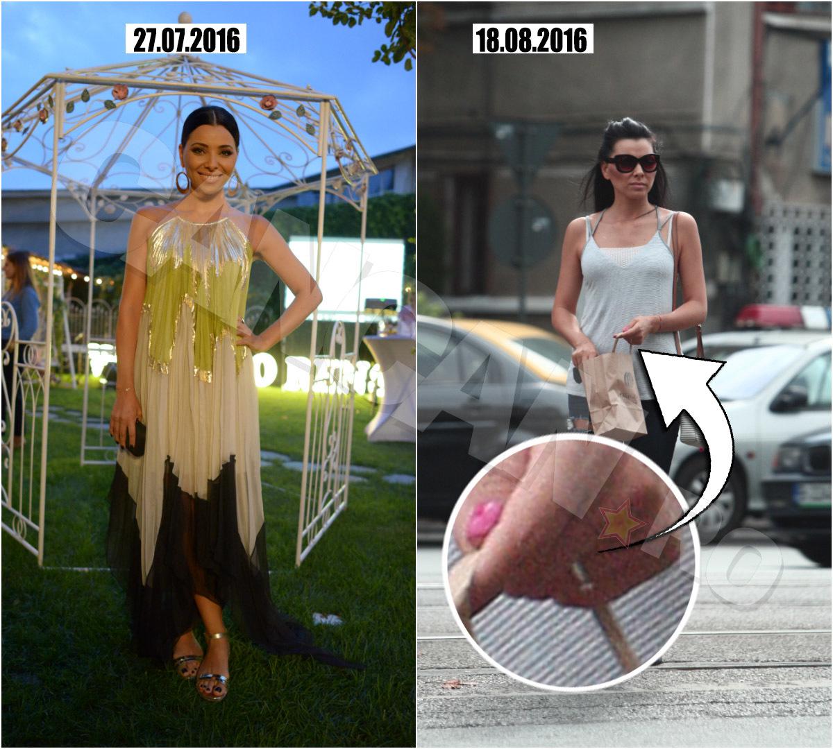 Deşi poartă inelul, Corina Caragea nu a făcut nici un anunţ oficial momentan, preferând să rămână discretă în legătură cu marele eveniment.