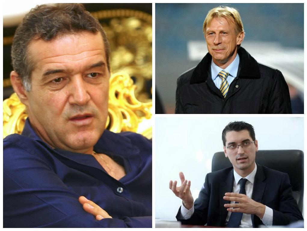 Gigi Becali îi contestă pe Daum şi Burleanu
