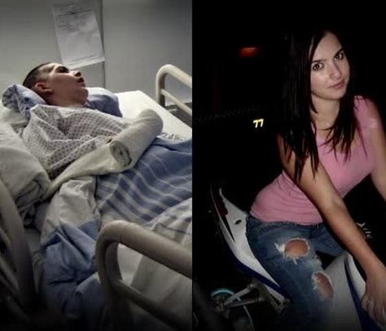 Ioana Condea  a fost bătută cu bestialitate de un proxenet în urmă cu doi ani.