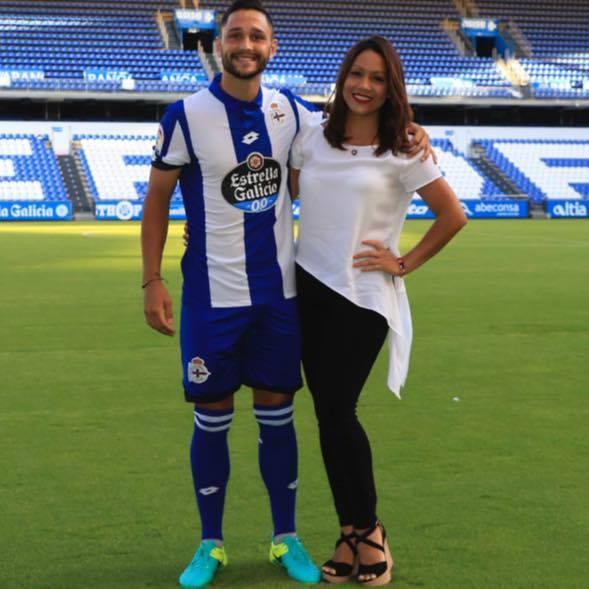 Florin Andone, împreună cu iubita lui
