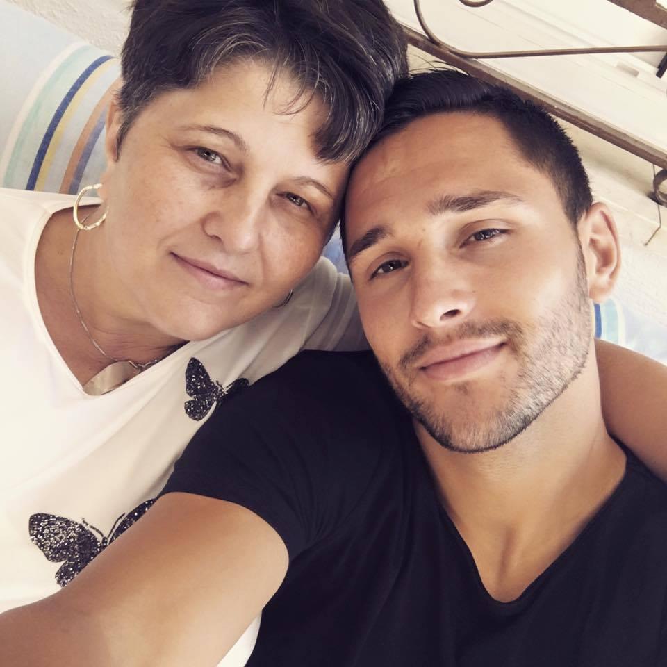 Florin Andone, împreună cu mama lui