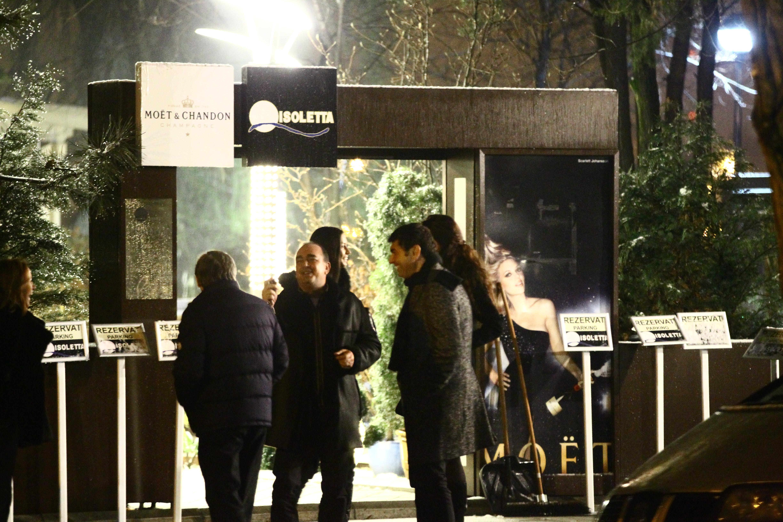 Cristi Borcea, Gigi Netoiu si Vova Cohn par extrem de binedispusi
